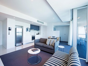 Gold Coast Private Apartments Level 15 Living Room